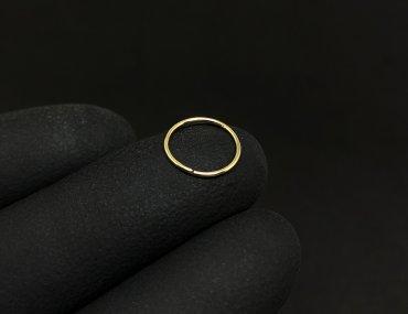 Piercing Nariz Ouro 18K Argola 1