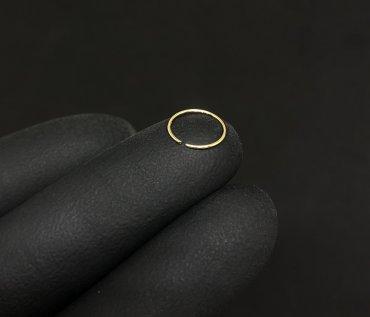 Piercing Nariz Ouro 18K Argola Fina