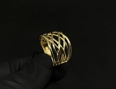 Anel Ouro 18K 4